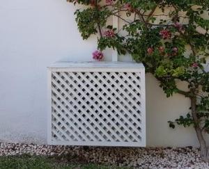 Tapa aire acondicionado