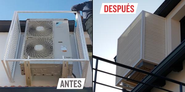 AD cubre aire acondicionado exterior