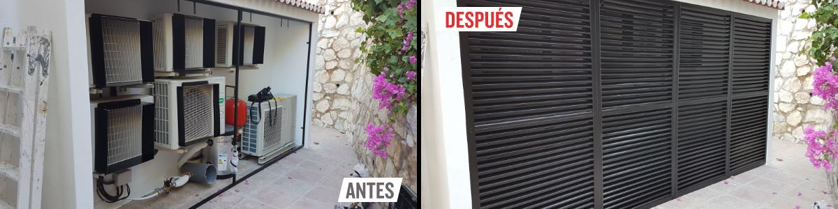 AD tapaaire para patios exteriores