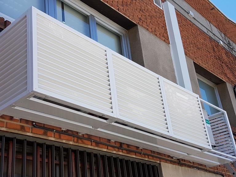 Cubierta modular aire acondicionado