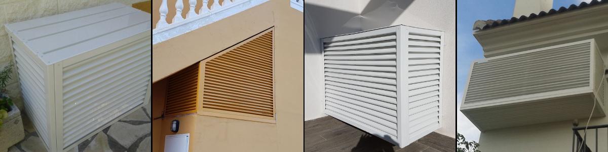 Cubrir aire acondicionado con tapaaires