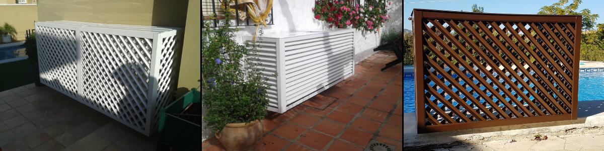 Proteger aire acondicionado en terrazas