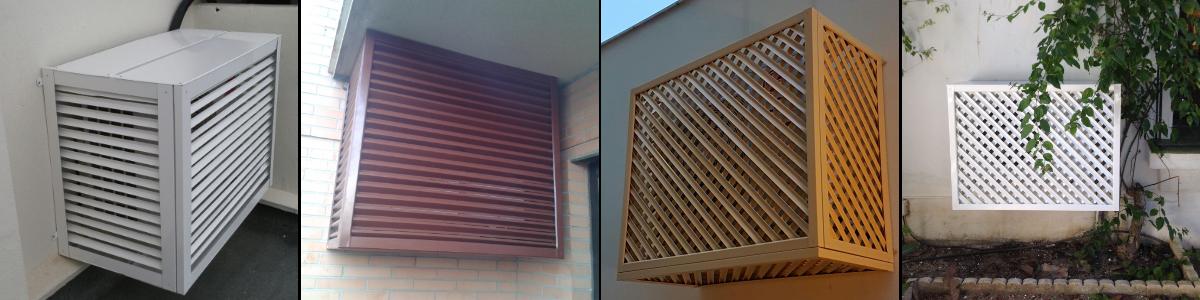 Proteger aire acondicionado exterior
