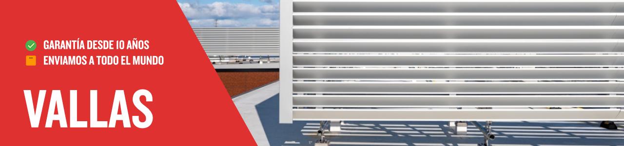 vallas para ocultar sistemas de climatización 2